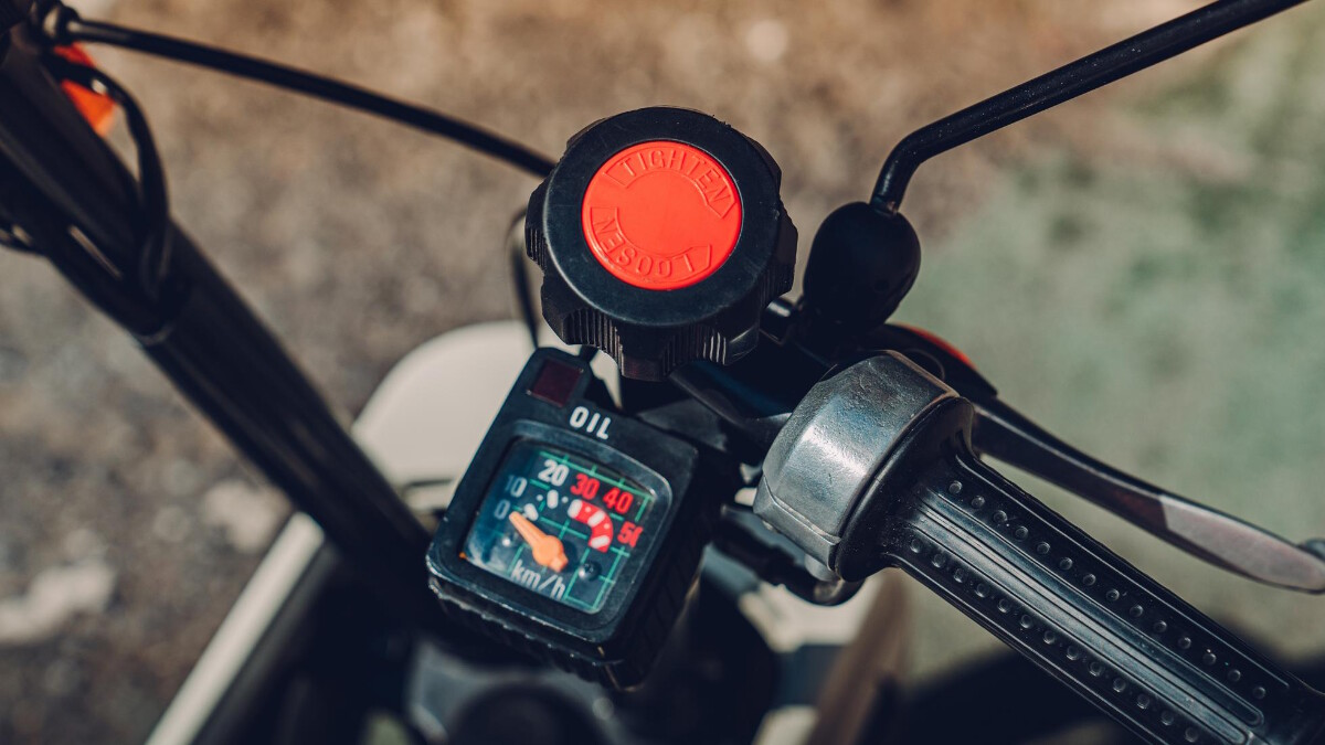 The Honda Motocompo Speedometer