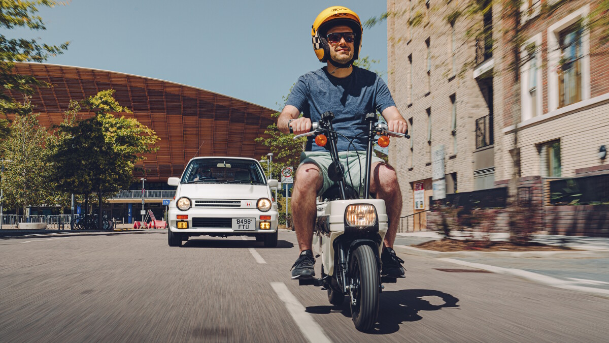 Honda Motocompo Details