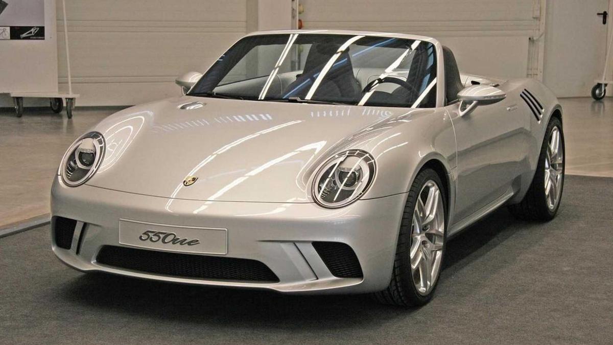 Porsche 550ne Concept based on the Porsche 550 Spyder