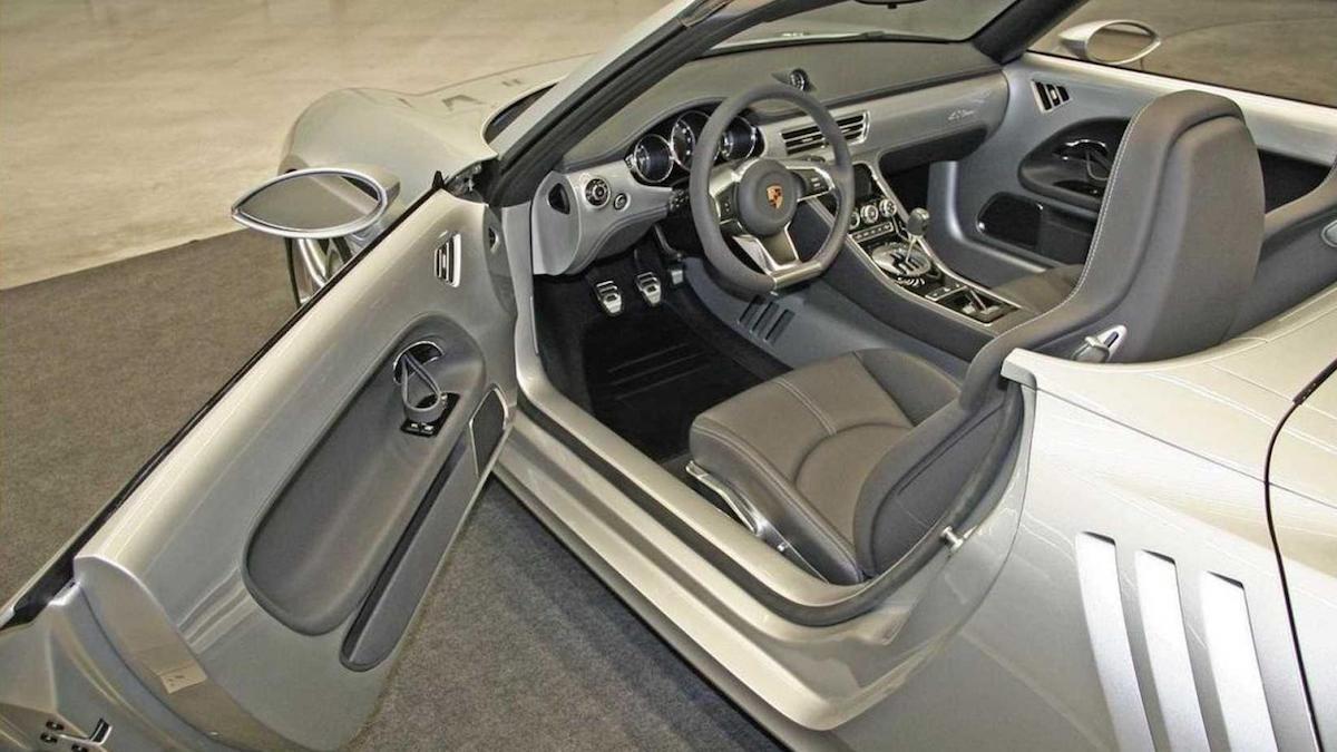 Porsche 550ne Concept based on the Porsche 550 Spyder - Interior
