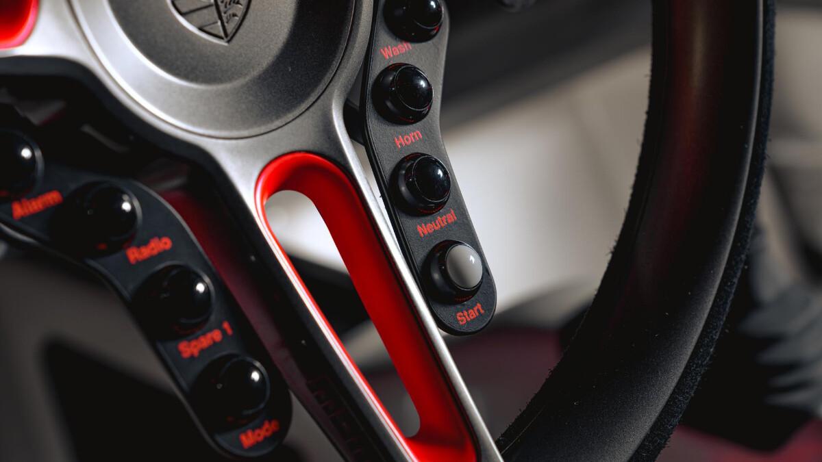 The Singer Porsche 911 All-Terrain Competition Study - Driving Wheel Details