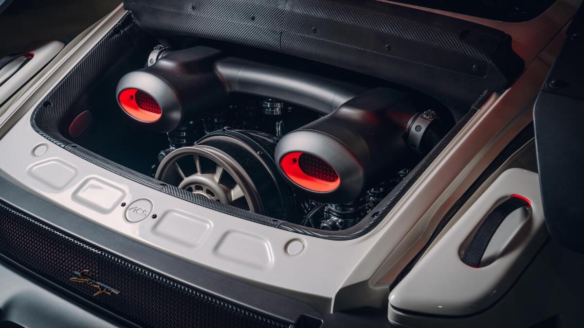 The Singer Porsche 911 All-Terrain Competition Study - Engine