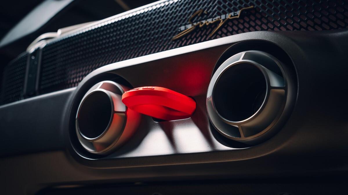 The Singer Porsche 911 All-Terrain Competition Study - Exhaust