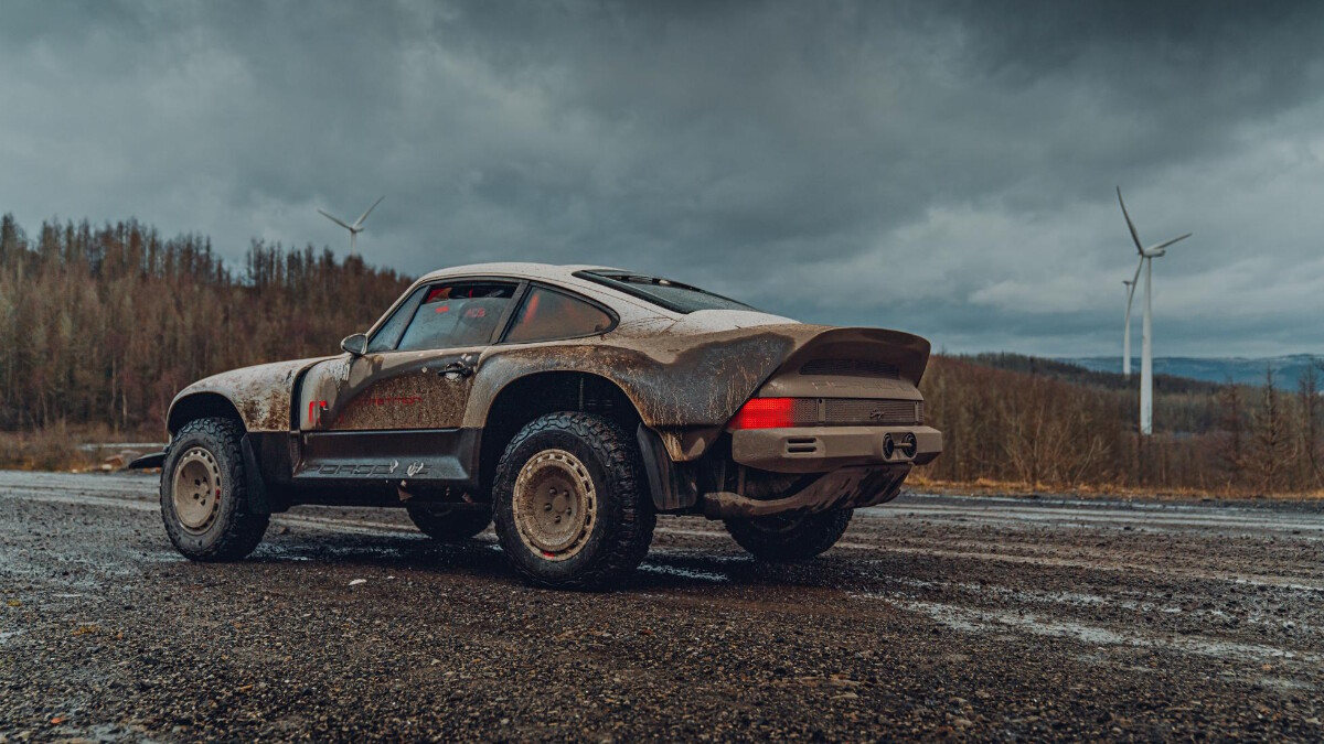 The Singer Porsche 911 All-Terrain Competition Study - Rugged