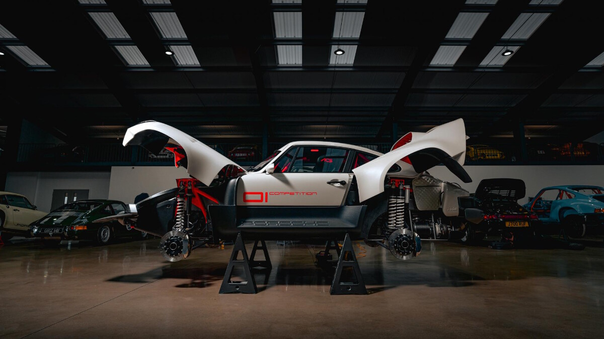 The Singer Porsche 911 All-Terrain Competition Study - Garage