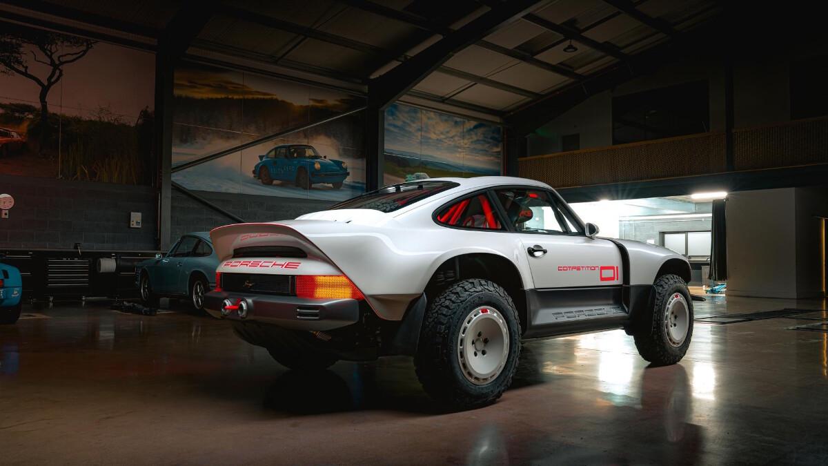 The Singer Porsche 911 All-Terrain Competition Study - Rear Feature