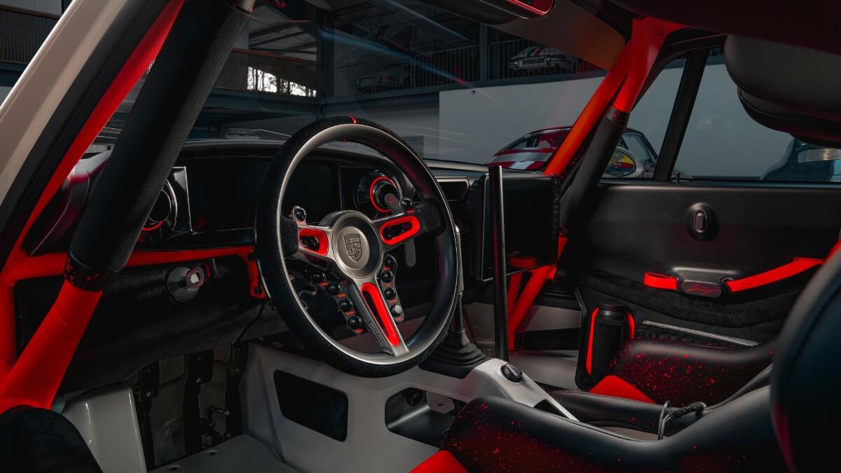 The Singer Porsche 911 All-Terrain Competition Study - Dashboard