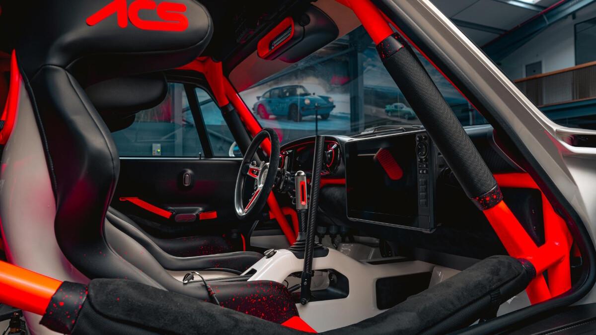 The Singer Porsche 911 All-Terrain Competition Study - Interior