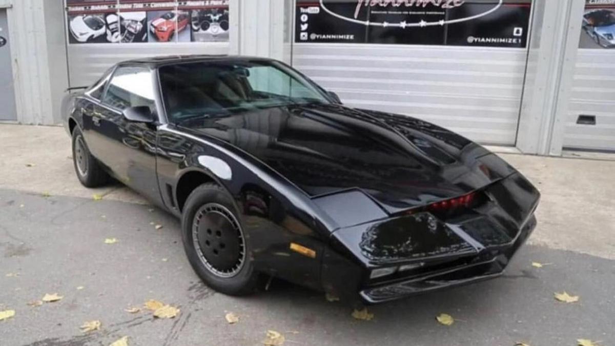 David Hasselhoff's own 1982 Pontiac Trans Am