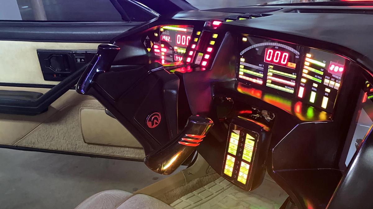David Hasselhoff's own 1982 Pontiac Trans Am - Driver's Wheel