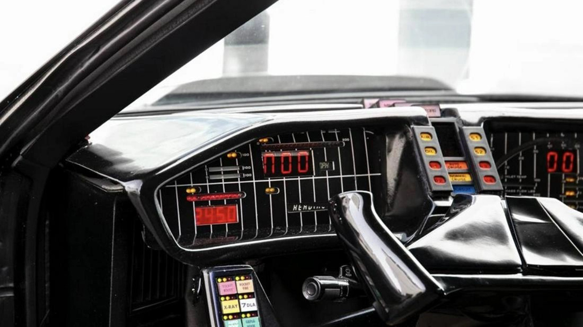 David Hasselhoff's own 1982 Pontiac Trans Am - Dashboard Detail