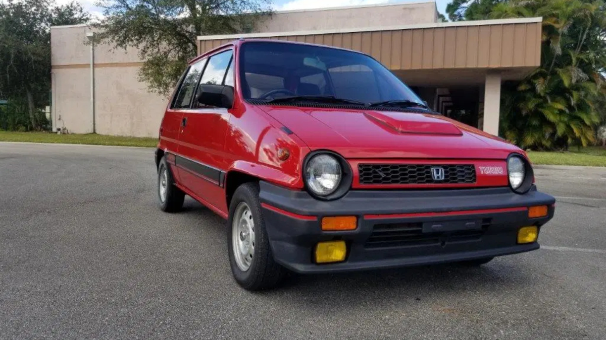 This clean 1983 Honda City Turbo is up for bids online
