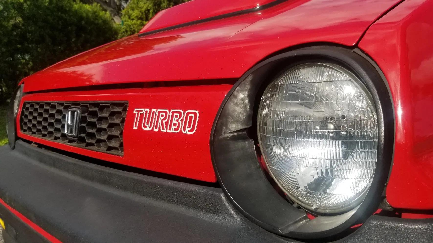 1983 Honda City Turbo headlights