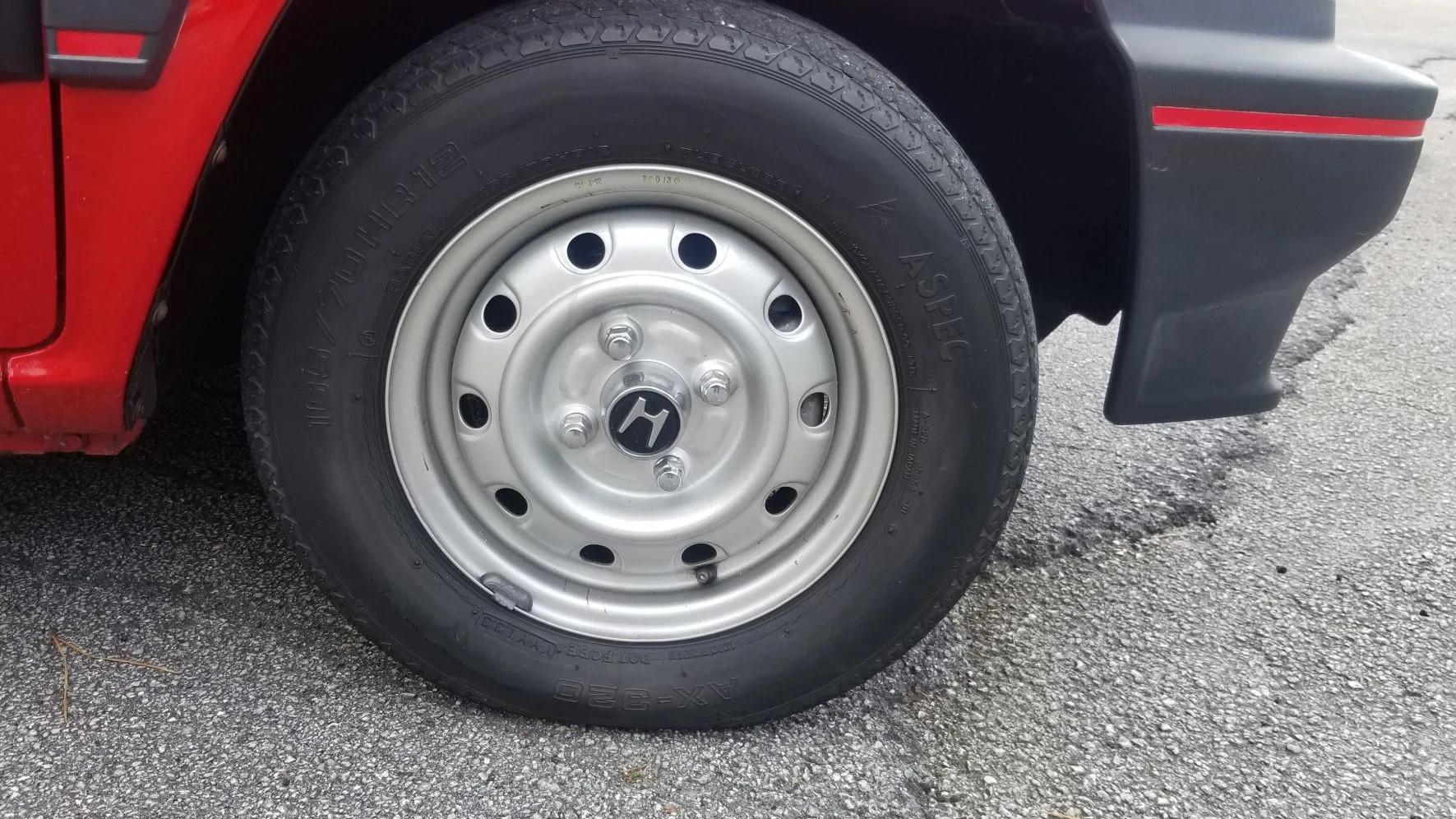 1983 Honda City Turbo rear detail