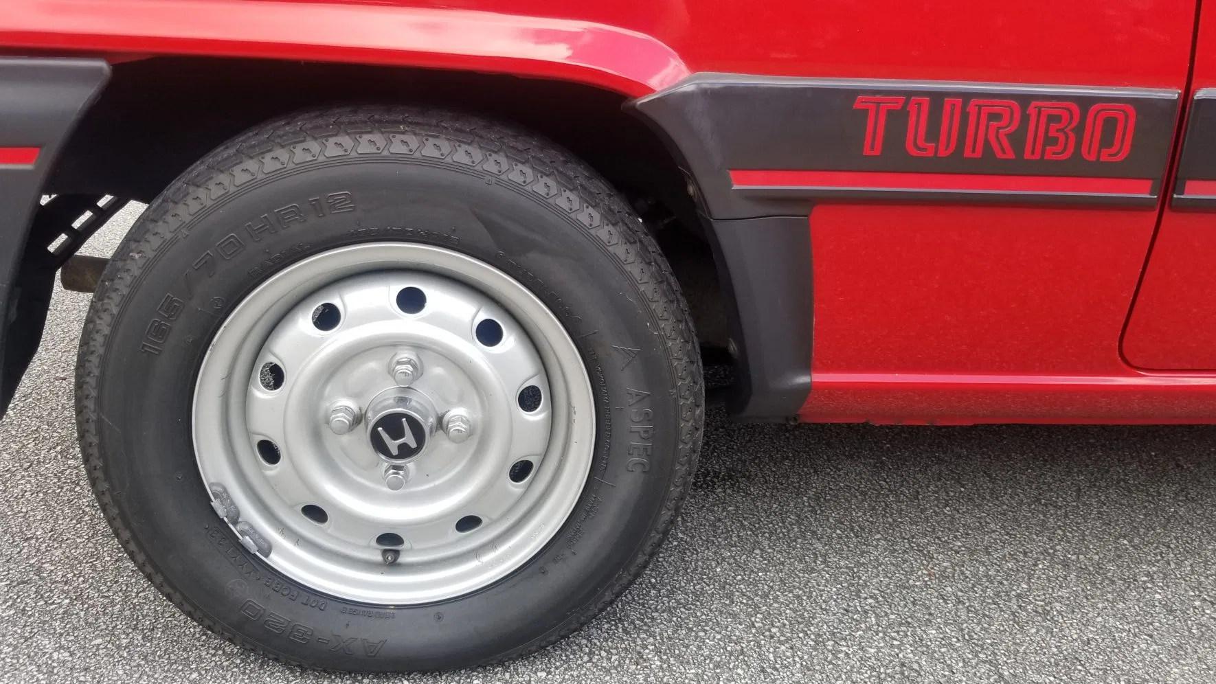 1983 Honda City Turbo driver's seat