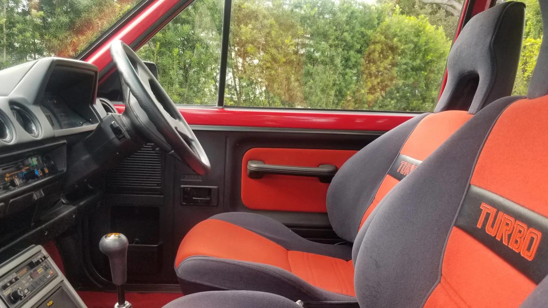 1983 Honda City Turbo dashboard