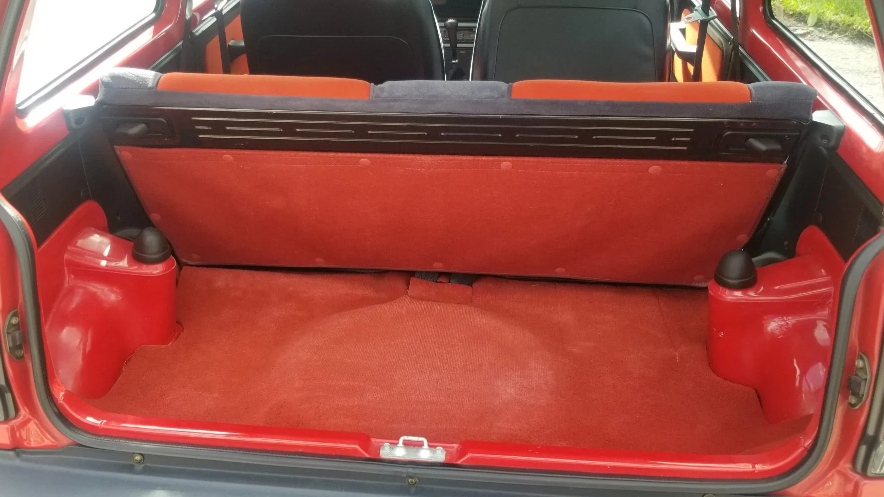 1983 Honda City Turbo backseat