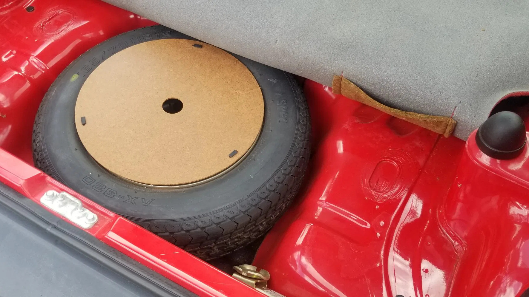 1983 Honda City Turbo spare tire