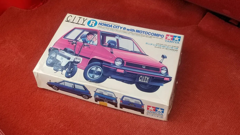 1983 Honda City Turbo Tamiya Model Box