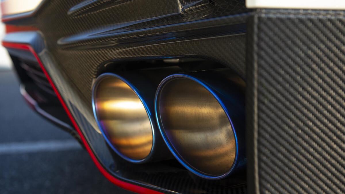 Nissan GT-R Nismo fog lamp