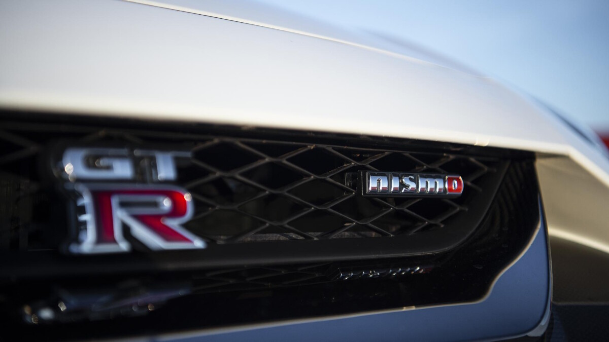 Nissan GT-R Nismo front detail