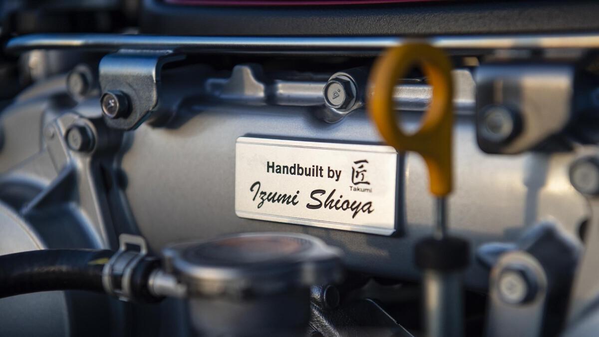 Nissan GT-R Nismo engine detail