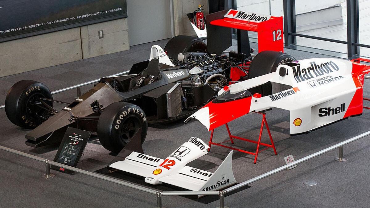 The McLaren MP4