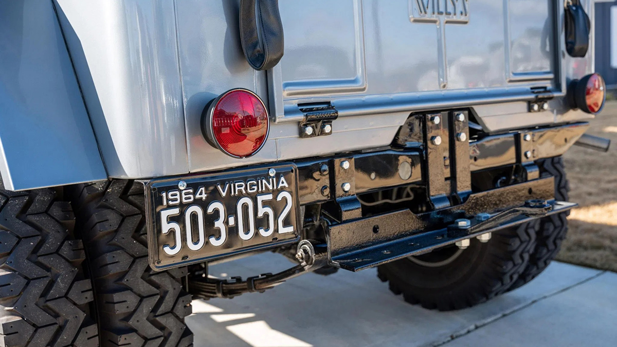 Willys Jeep Rear Plate