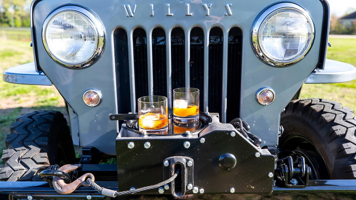 Willys Jeep Front Detail