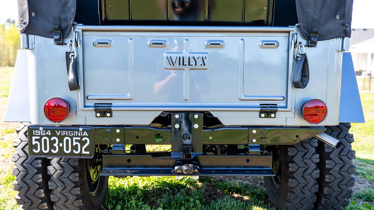 Willys Jeep Rear Detail