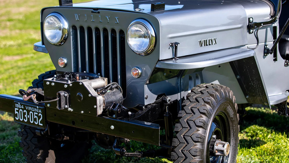 Willys Jeep Front Feature