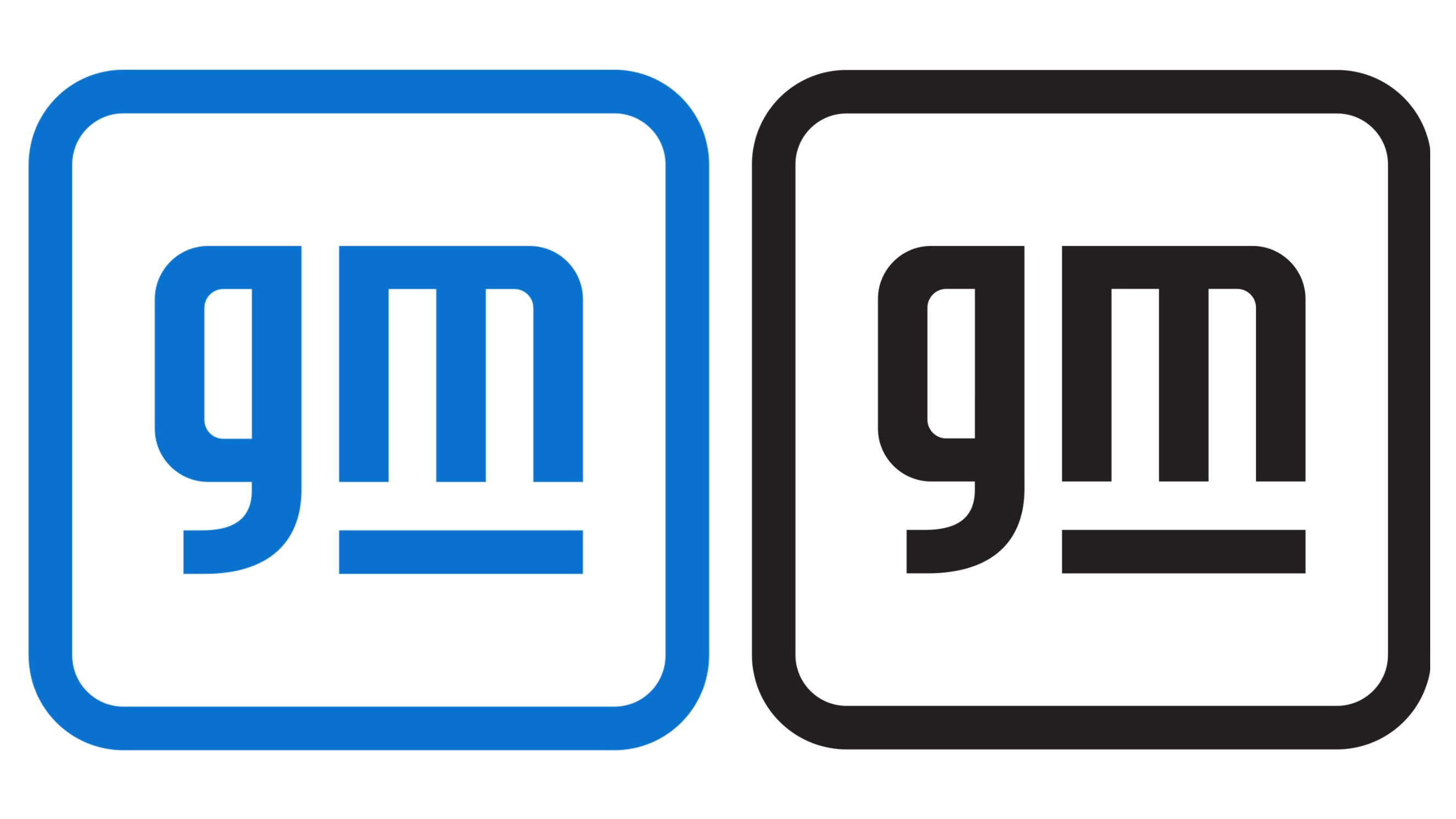 The New General Motors Logo