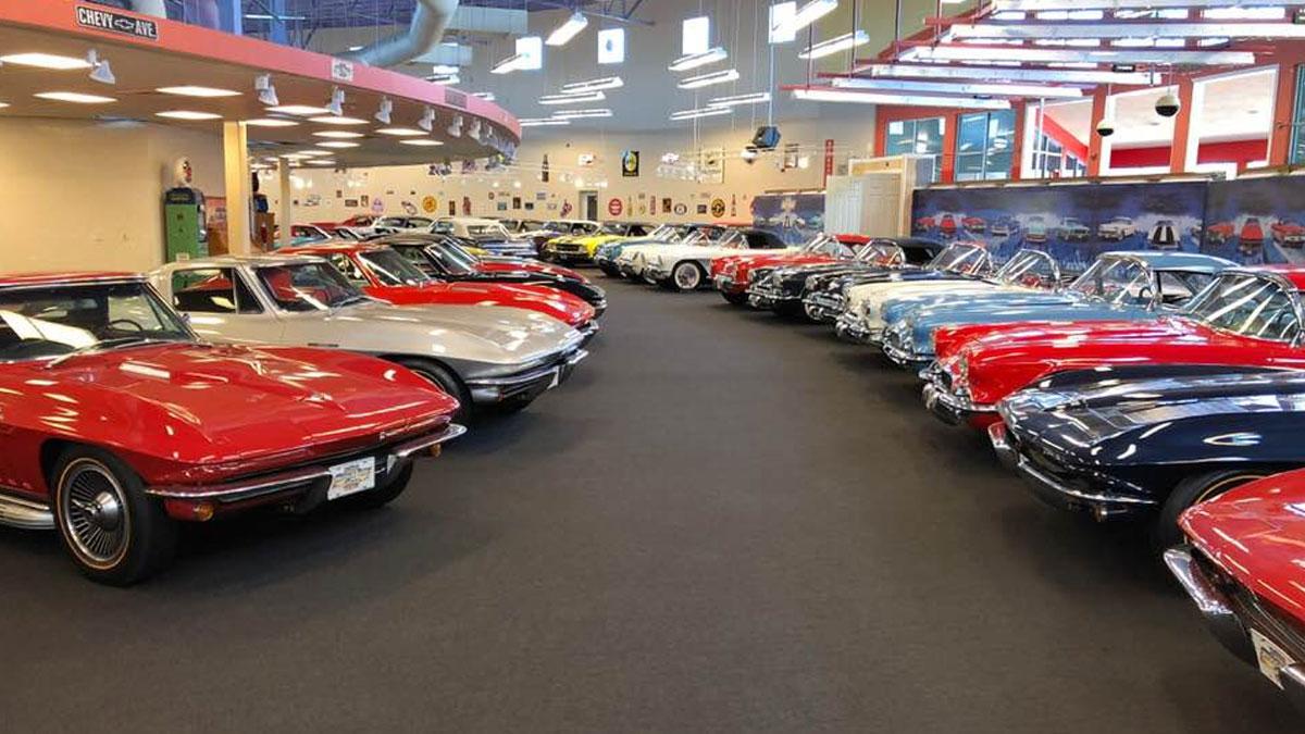 Rick Treworgy's Muscle Car City