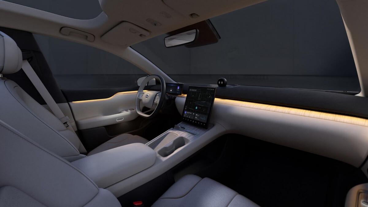 The NIO ET7 Interior
