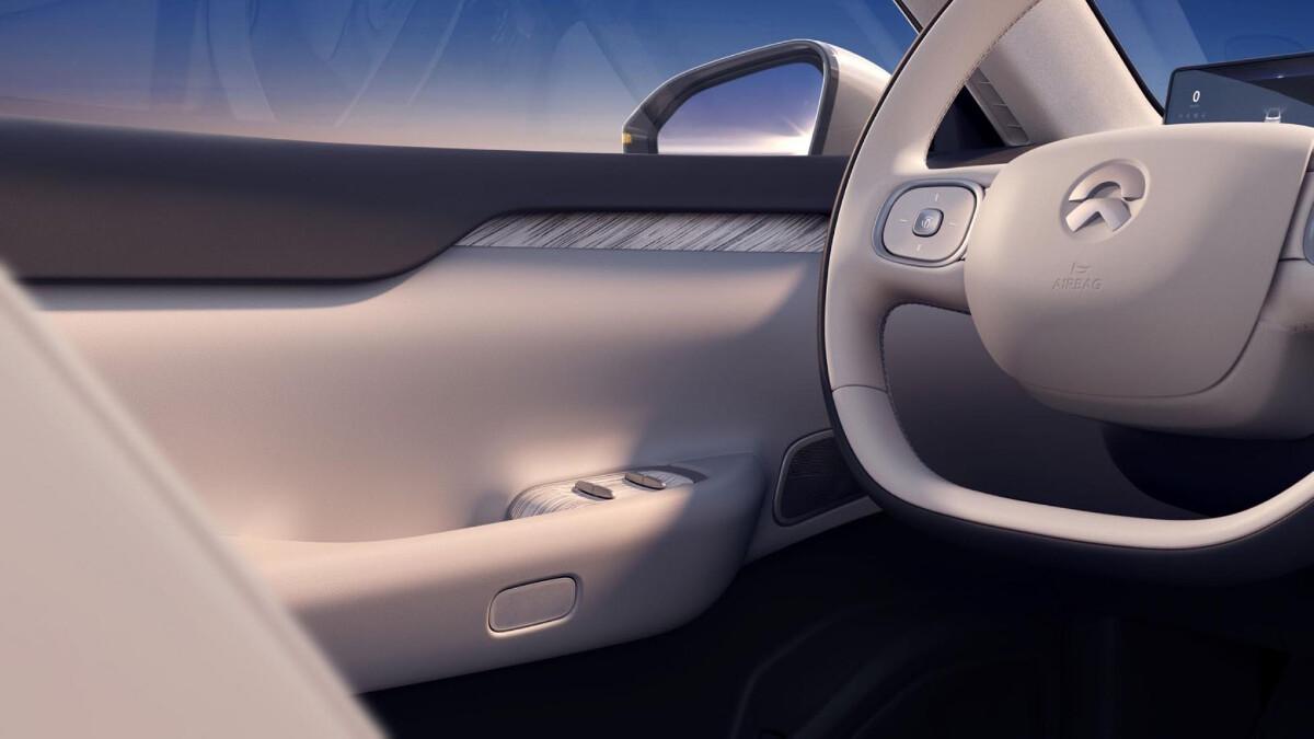 The NIO ET7 Driving Wheel Detail