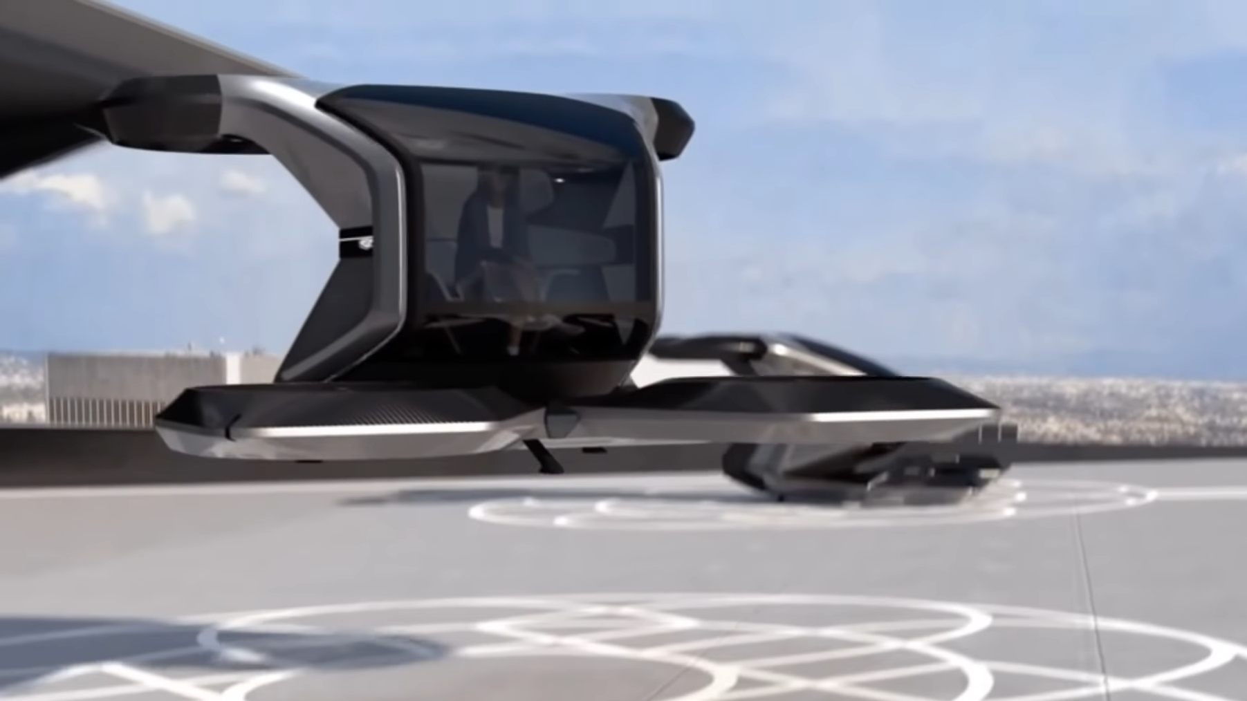 Cadillac Flying Cars Concept