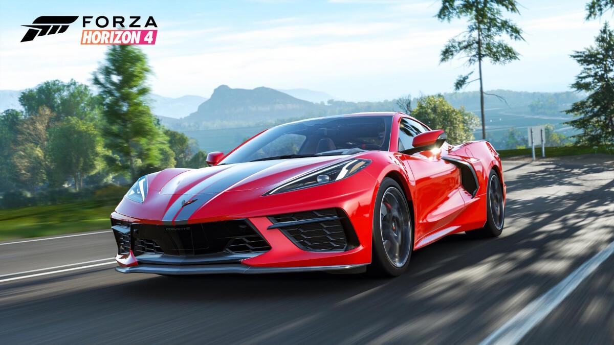 Forza Horizon 4 - Chevrolette Corvette C8 - On the Road