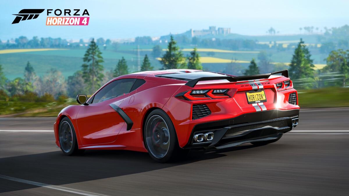 Forza Horizon 4 - Chevrolette Corvette C8