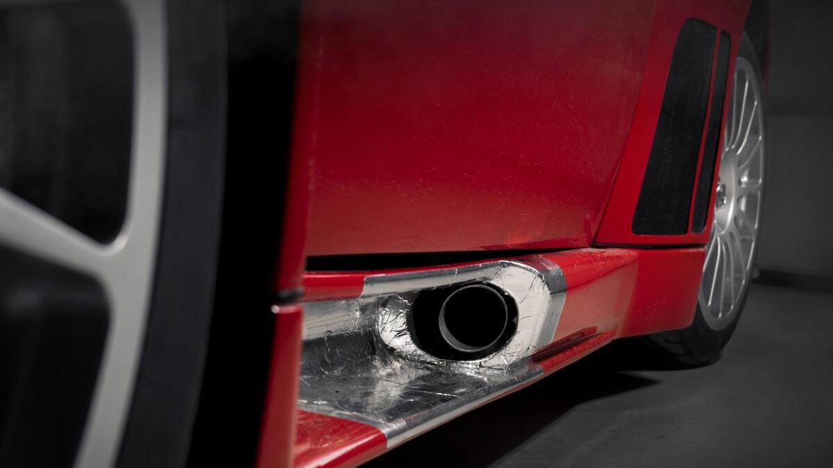 The Ferrari 575 - Exhaust