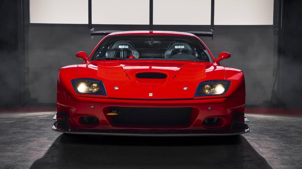 The Ferrari 575 - Front Profile