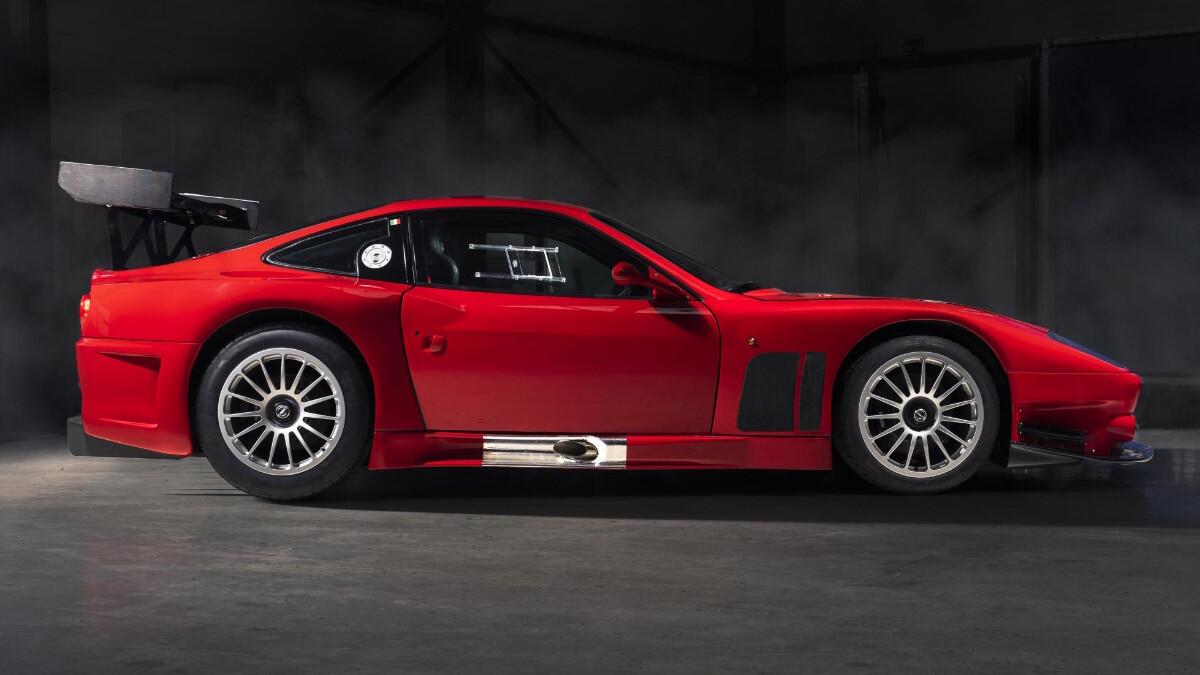 The Ferrari 575 - Profile
