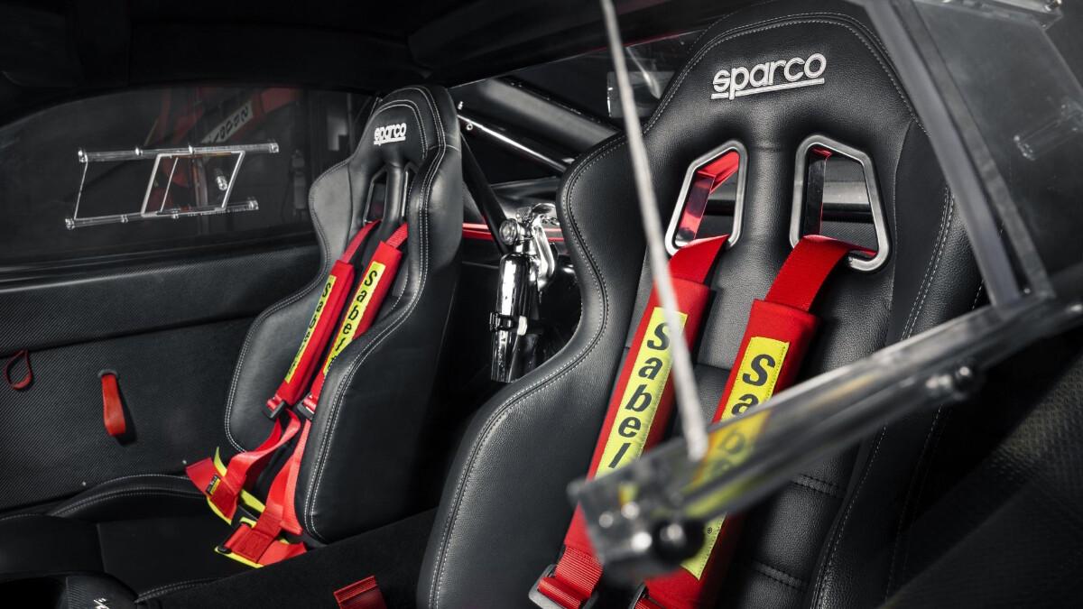 The Ferrari 575 - Interrior Seats