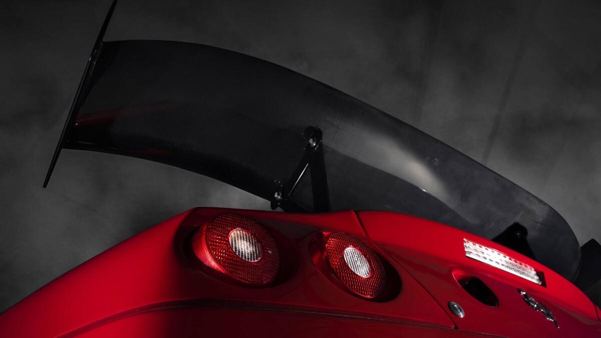 The Ferrari 575 - Spoiler and Rear Lights