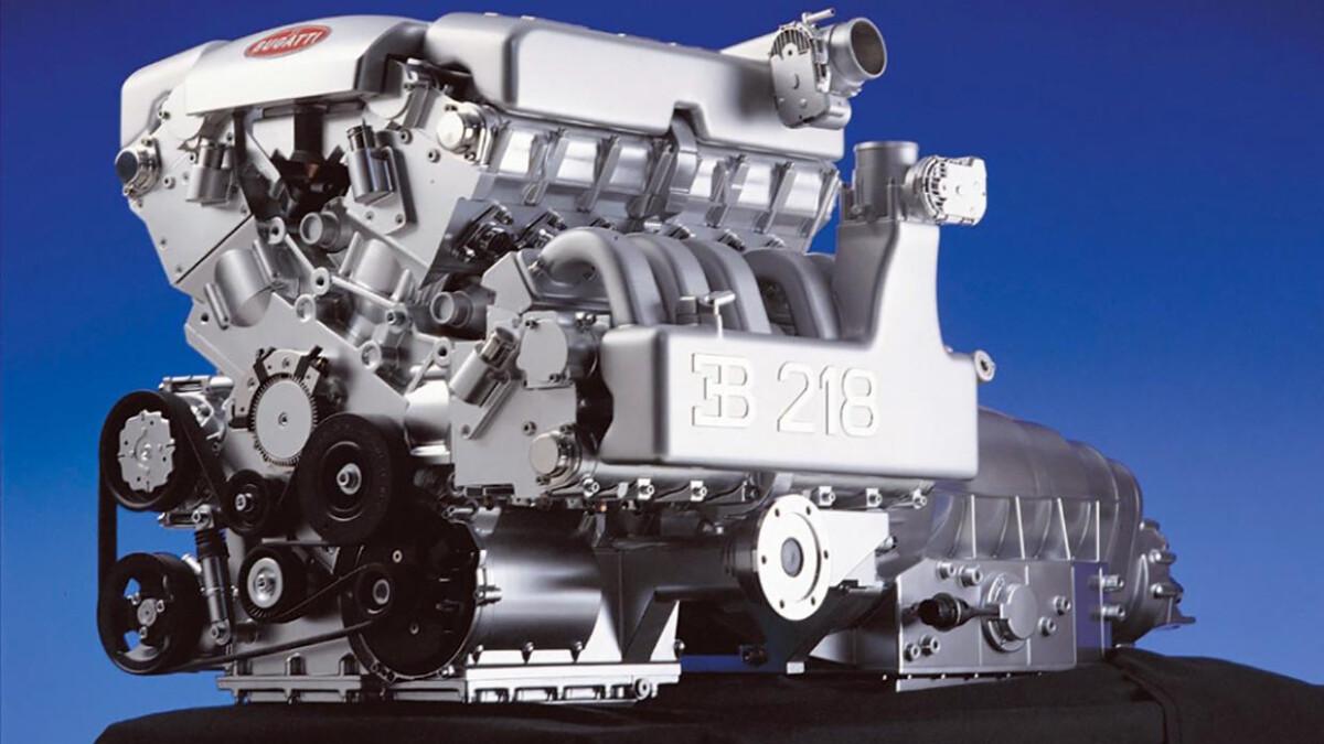 Bugatti EB 218 - Engine