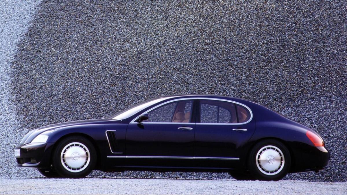 Bugatti EB 218 - Profile