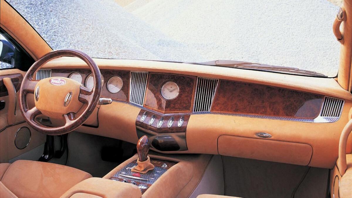 Bugatti EB 218 - Interior Dashboard