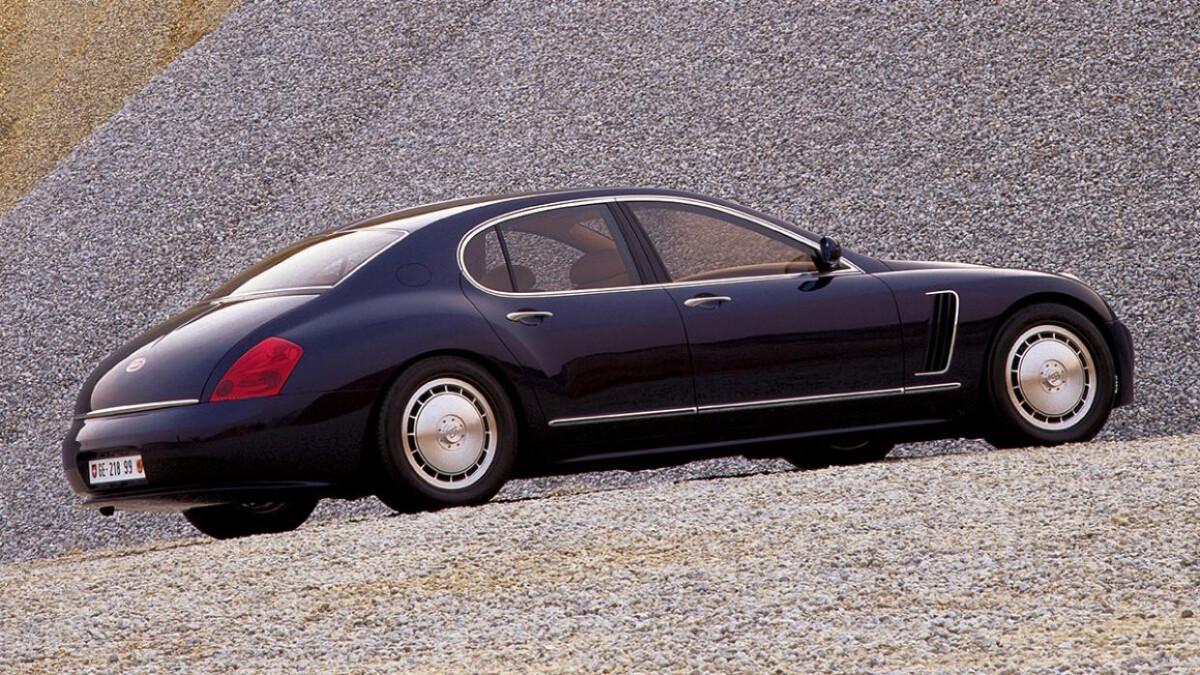 Bugatti EB 218 - Profile Wide Angle