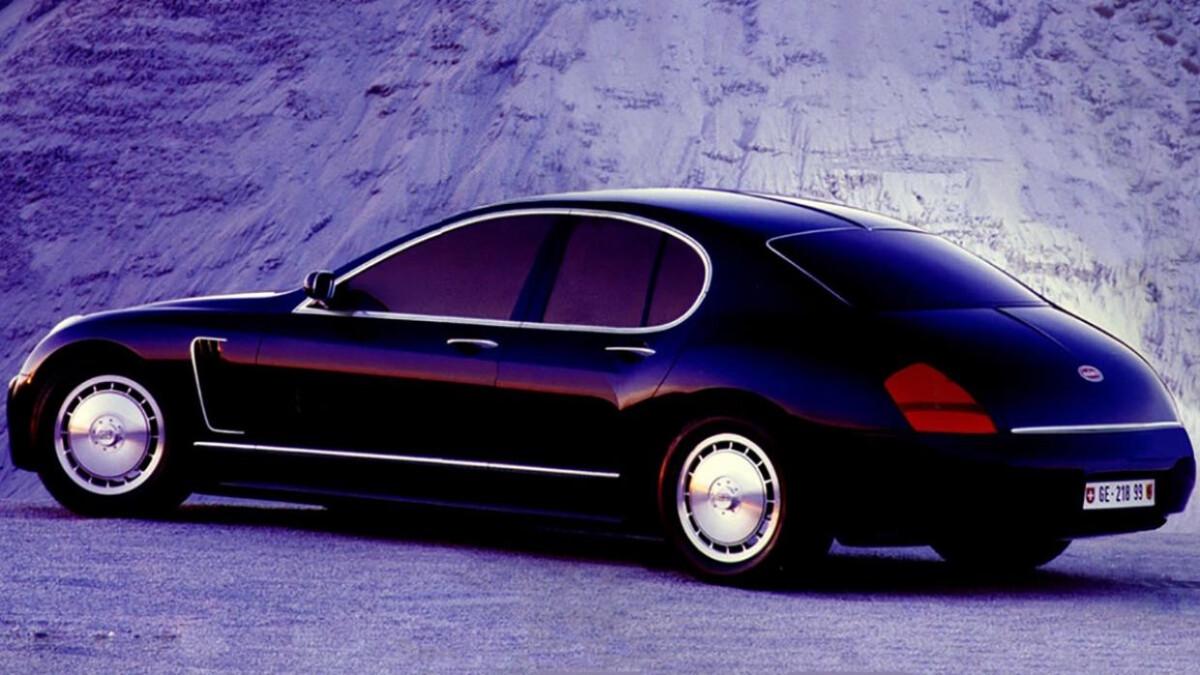 Bugatti EB 218 - Profile Rear