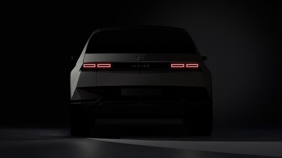 The Hyundai Ioniq 5 - Rear