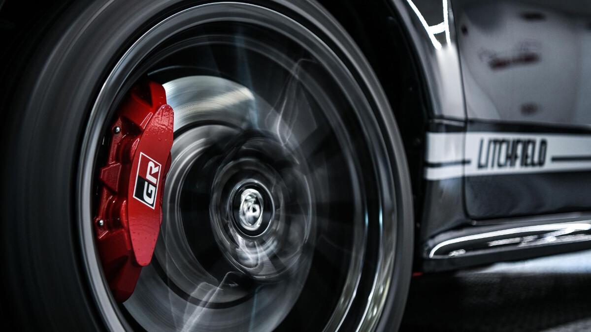 Litchfield-Tuned Toyota GR Yaris - tire detail